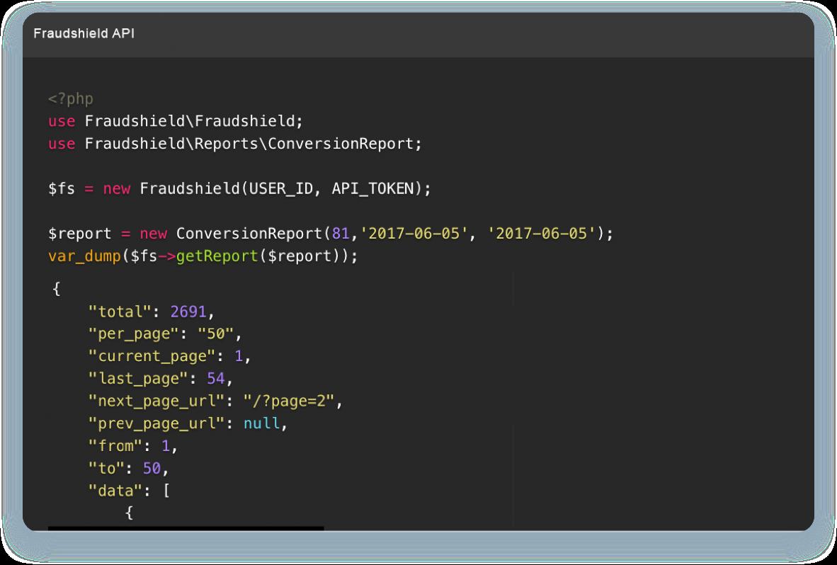 Fraudshield API Image